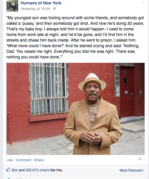 humans of newyork