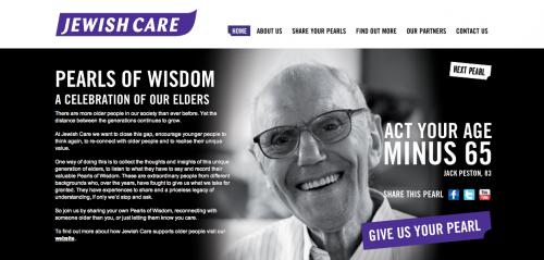 screen grab from Jewish Care home page